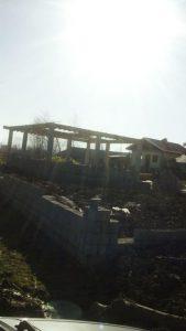 فروش زمین با بنای نیمه ساخت سیاهکل